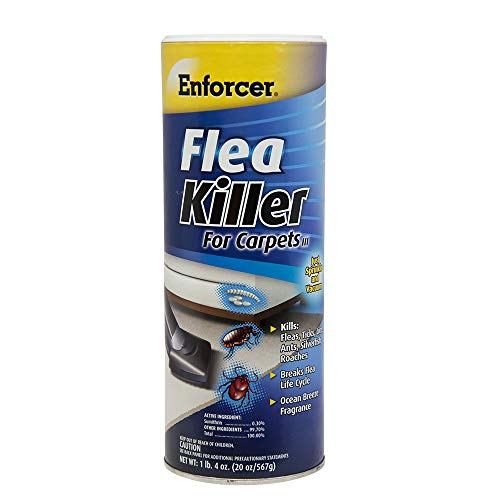 Enforcer Flea Killer for Carpets 20 ounce (Pack of 2) (Carpet Cleaner With Flea Killer)