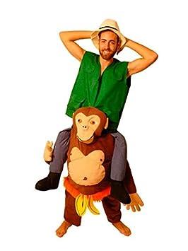 DISBACANAL Disfraz de Explorador sobre chimpancé - Único, XL ...