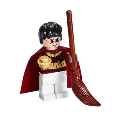 LEGO Harry Potter (Quidditch Gear) with Golden Snitch Harry Potter Minifigure: Toys & Games