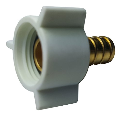 Threaded Brass Adapter - 10 PIECES XFITTING 1/2