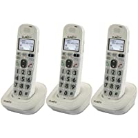 Clarity D704HS Moderate Hearing Loss Cordless Handset (3-Pack)