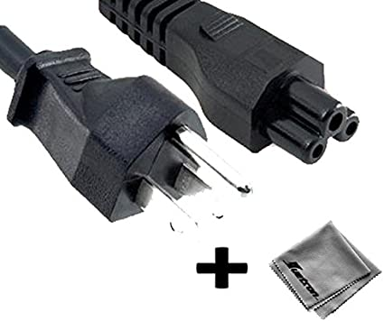 6 ft AC Power Cord for Casio XJ-A130 DLP Projector