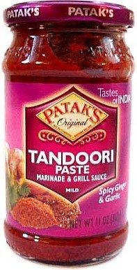 Patak's Tandoori Paste (Marinade & Grill sauce) Mild - 11oz