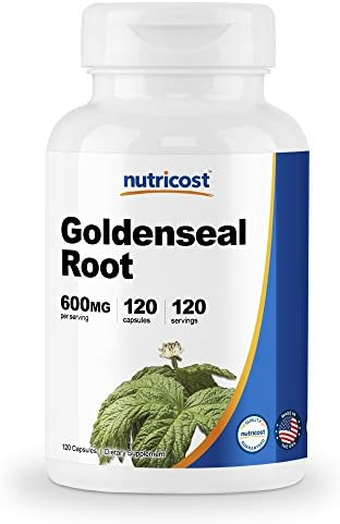 Nutricost Goldenseal Root 600mg Capsules product image