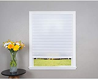 product image for Redi Shade White Light Filtering Cordless Pleated Shade (Actual: 48-in x 72-in)