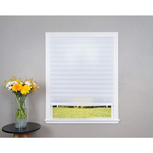 Redi Shade White Light Filtering Cordless Pleated Shade (Actual: 48-in x 72-in)
