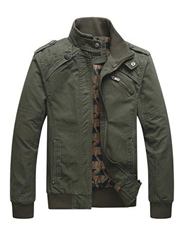 Zip Jacket Green - 9