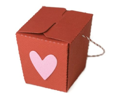 We R Memory Keepers Mini Takeout Box Template (Take Out Box Template)