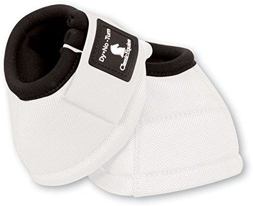 Classic Equine Dyno No-Turn Bell Boots B000BAXOVQ Large|White