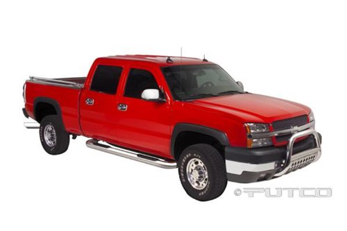 UPC 010536451351, Putco 45135 Boss Bar Stainless Steel Side Steps (Wheel-to-Wheel)