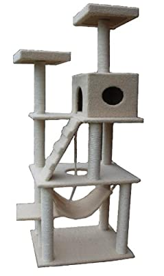 72 Large Cat Tower Tree With Condo House Scratcher Post from Outlet2000