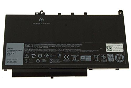 Brand New 7CJRC battery for Dell Latitude E7270, Latitude E7470 11.4V 42Wh 3-Cell Primary Battery 21X15 021X15