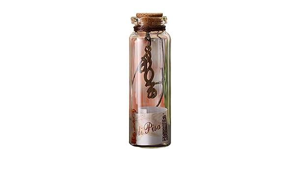 Xiton - Juego de 5 Botellas de Cristal pequeñas, de Corcho ...