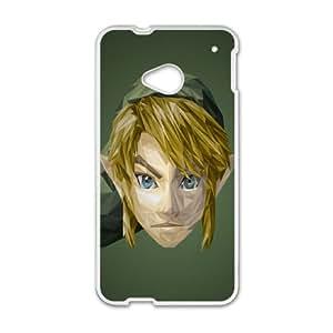 HTC One M7 Cell Phone Case White Zelda Polygons SU4296601