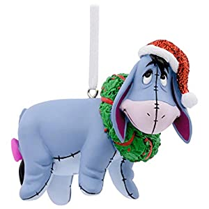 Hallmark Disney Winnie The Pooh Eeyore with Wreath Ornament Movies & TV 94