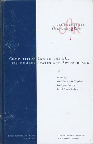 Download The Competition Laws of the EU Member States and Switzerland, Vol 2 (Law of Business and Finance Set) (v. 2) pdf