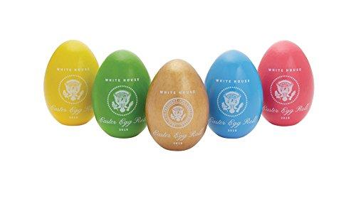 Official 2018 White House Easter Egg Set