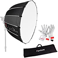 Aputure Light Dome 35 Softbox with Bowen-S Speed Ring, Carrying Bag and Pergear Clean Kit for Aputure Light Storm COB 120t and Other Bowen-S Mount Lights
