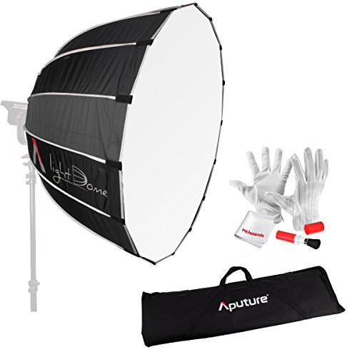 Aputure Light Dome 35'' Softbox with Bowen-S Speed Ring, Carrying Bag and Pergear Clean Kit for Aputure Light Storm COB 120t and Other Bowen-S Mount Lights by Aputure