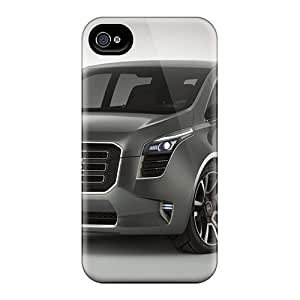 Iphone 4/4s Case Cover With Shock Absorbent Protective Case