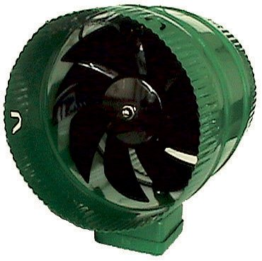 "NEW! HYDROFARM ACFB8 Active Air 8"" Hydroponics Inline Duct Booster Fan - 471 CFM"