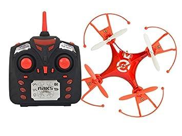 Naks- Dron, Color Rojo (DR-747QC/RD): Amazon.es: Juguetes y juegos