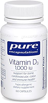 Pure Encapsulations - Vitamin D3 1000 IU 60 vcaps