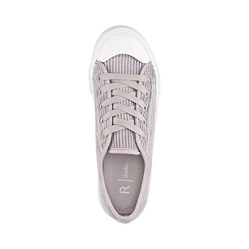 La Redoute Collections Frau Sneakers, Gerippter Kordsamt Gre 40 Grau