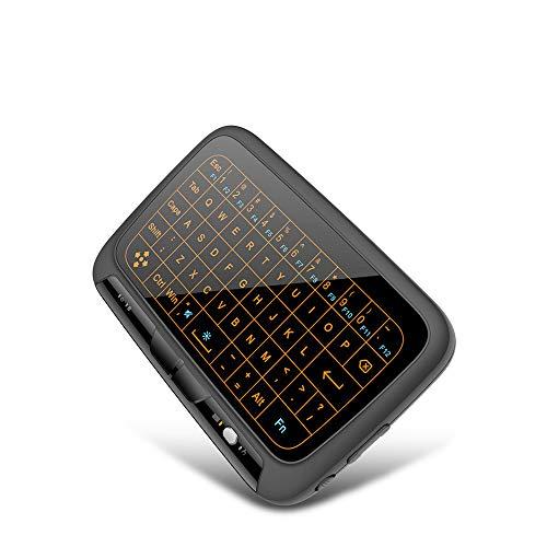 Sviper-3c Ultra-Slim Bluetooth Keyboard 2.4G Mini Wireless touchpad Backlit Keyboard Full Screen Touch Ultra-Thin Wireless Bluetooth Keyboard