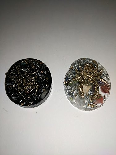 (Orgone Spider Tower Busters - Set of Two - Black and)