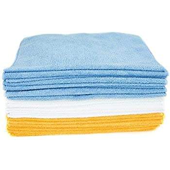 Zwipes Microfiber Cleaning Cloths and Towels, 24 Count