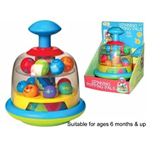 Funtime Spinning Popping Pals Toy Baby Product