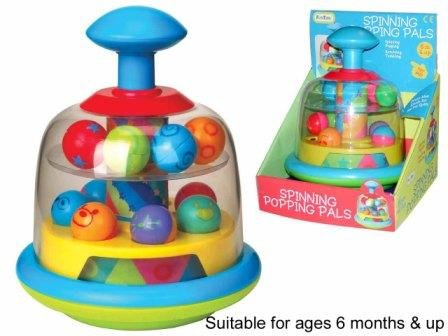 Funtime Spinning Popping Pals Toy [Baby Product]