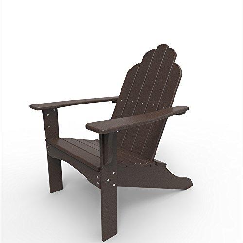 Malibu Outdoor Living - Malibu Outdoor Living Yarmouth Adirondack Chair - Dark Brown