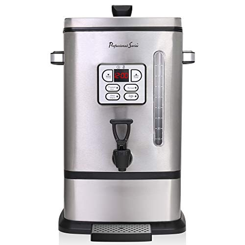 Continental Electric PS-SQ018 Professional Coffee Urn, 50 Cup, Stainless ()