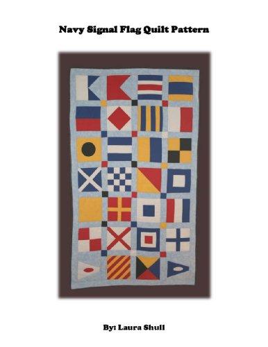 (Navy Signal Flag Quilt Pattern)