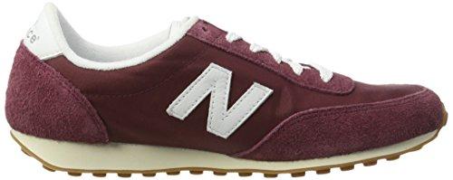 Sneaker U410 Balance burgundy Rosso Uomo New nwY81qfaxq