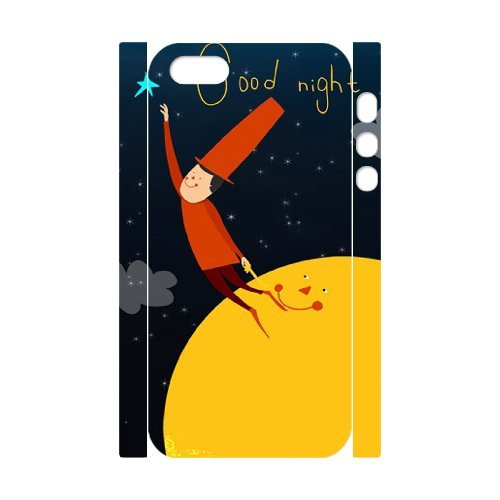 SYYCH Phone case Of Good Night Cover Case For iPhone 5,5S