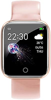 Fesjoy SmartWatch - Pantalla a Color de 1.3 Pulgadas, (IP67) a ...