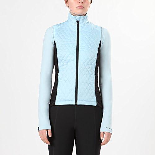 Irideon Cambria Quilted Vest medium-iceブルー/ブラック