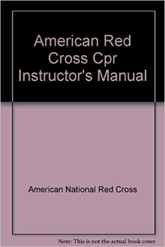 e37546812912 American Red Cross Cpr Instructor s Manual  American National Red Cross   9780865361331  Amazon.com  Books