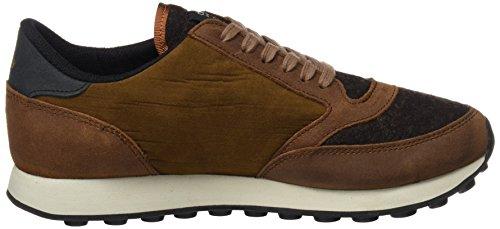 015 Uomo ochre Duuo Marrone Brown Sneaker Prisa vwaqEY