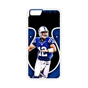 """High Quality Phone Back Case Pattern Design 10Andrew Luck,NCAA's Big Manning Pattern- For Apple Iphone 6,4.7"""" screen Cases"""