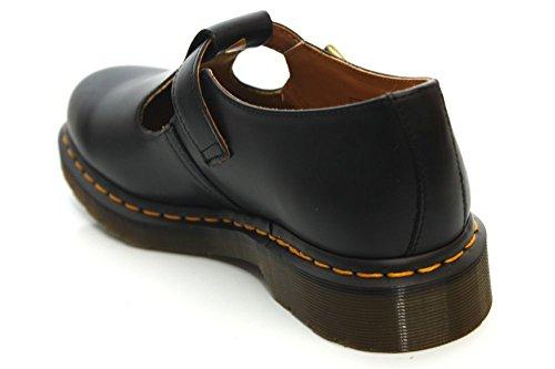 Cuir De M A En Ville Smooth Martens Dr Chaussures Polley Boucle Ixw6qRAg0