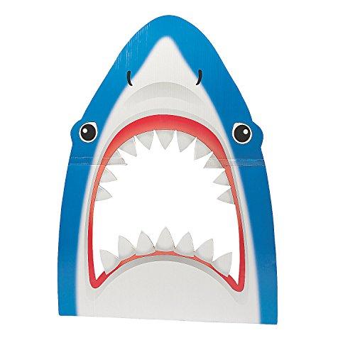 Shark-Shape Photo Prop -