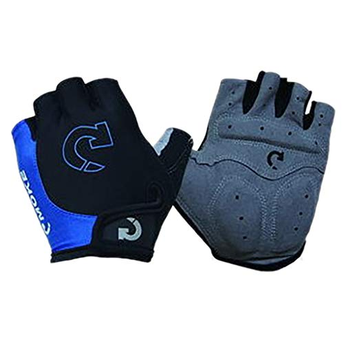 charts_DRESS Cycling Gloves Men Women Mountain Bike Multiple Size Gel Pad Shock-Absorbing|Anti- Slip|Breathable MTB Road Bicycle Gloves Half Finger (Blue, Large)