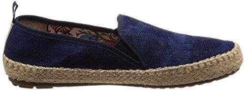 EMU Australia Womens Shoes Gum Canvas Dark Denim Distress AxG39