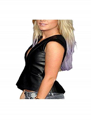 Faux Donna Le The Giubbotto Dead Walking Genio Di Tisdale Collezione Tisdale Vest Ashley Collection Ashley Leather E Genius Finto Pelle Camminare Morta Women E aHxP7a