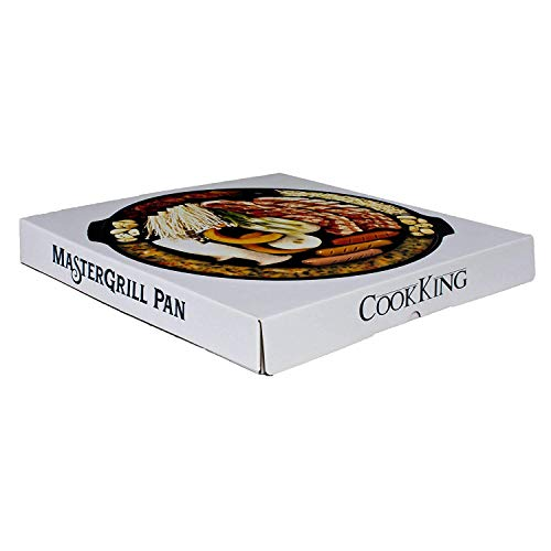 CookKing - Master Grill Pan, Korean Traditional BBQ Grill Pan - Stovetop Nonstick Indoor/Outdoor Smokeless BBQ Cast… Salted Salad