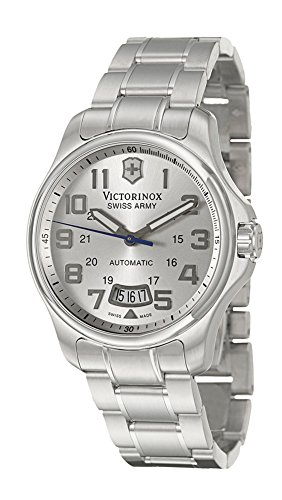 Victorinox Swiss Army Men's 241372 Officers Mechanical Self-Winding Watch